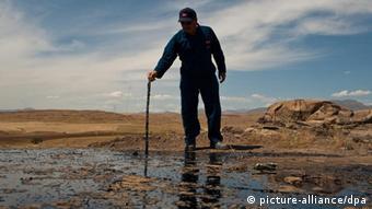 یک حوزه نفتی در شمال عراق