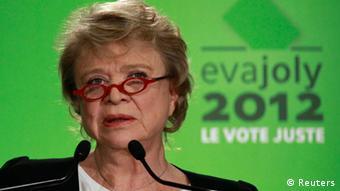 Französische Präsidentschaftskandidaten 2012 Eva Joly,