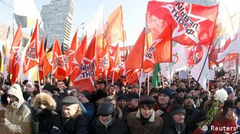 Russland Proteste für Faire Wahlen