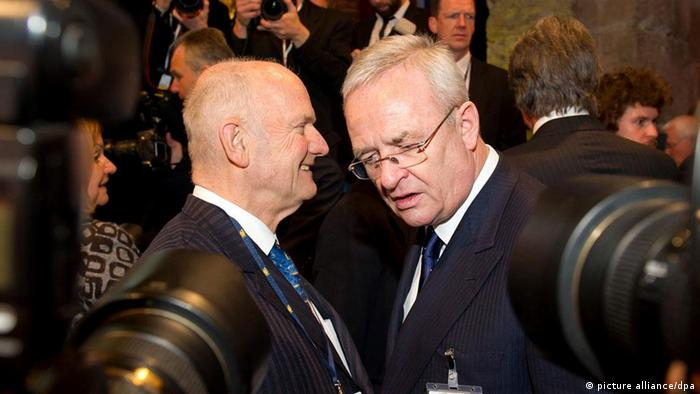 VW's Ferdinand Piech and Martin Winterkorn