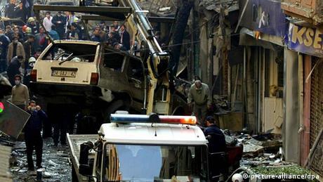 Verwüstung nach Terroranschlägen in Istanbul. (Foto: TOLGA BOZOGLU/dpa)