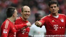 Fussball 1. Bundesliga 25. Spieltag, FC Bayern Muenchen gegen TSG 1899 Hoffenheim in Allianz-Arena Muenchen