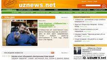 Screenshot www.uznews.net