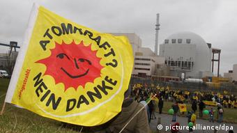 Protests in Germany to mark the one year anniversary of the Fukushima meltdown