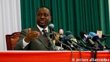 Elfenbeinküste Guillaume Soro Ex-Premier Minister