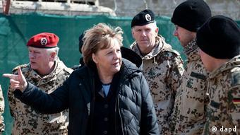 Afghanistan Deutschland Bundeskanzlerin Merkel zu Kurzbesuch in Masar-i-Sharif