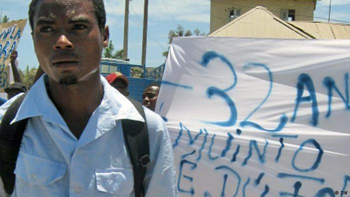 Demonstration in Benguela Angola