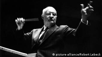 Paul Hindemith también fue teórico musical y director de orquesta