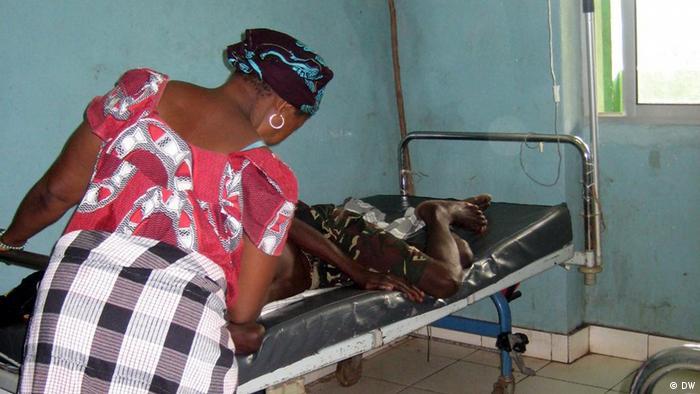 Os hospitais na Guiné-Bissau têm condições muito precárias e falta de equipamentos básicos