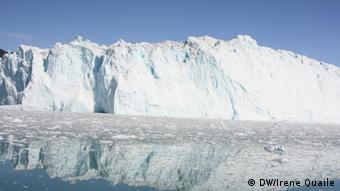 Greenland iceberg in Ilullissat-Eisfjord. By Irene Quaile/DW.