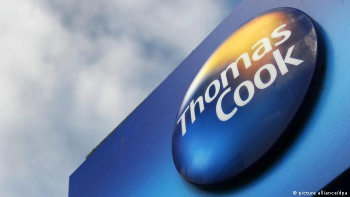 Thomas Cook Logo (picture alliance/dpa)