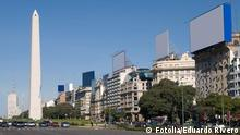 9 de Julio Avenue and The Obelisk a major touristic destination in Buenos Aires, Argentina