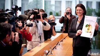 Lebensmittel Müll Verbraucherministerin Ilse Aigner