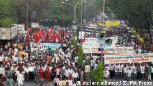 Bangladesch Dhaka Demonstration Awami League