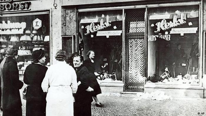 Deutschland Geschichte Bildergalerie Juden in Berlin Pogromnacht Geschäft