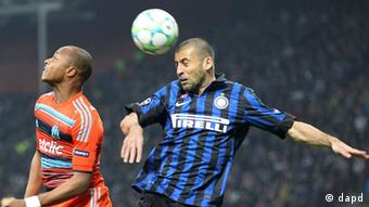 Fussball Champions League Inter Mailand - Olympique Marseille
