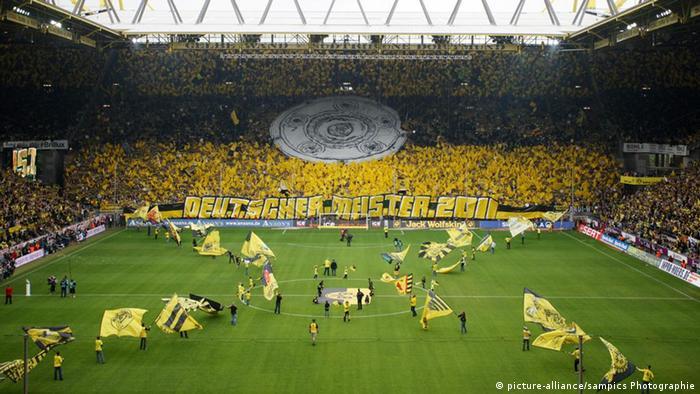 BVB Stadion Deutscher Fussball Meister Borussia Dortmund