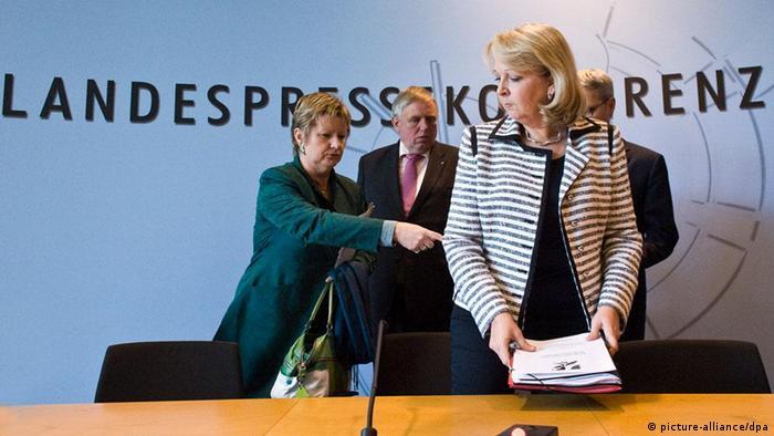 State Premier Hannelore Kraft