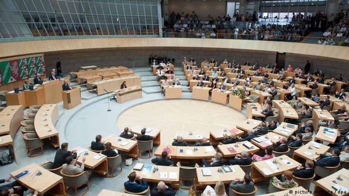 The North Rhine-Westphalian parliament