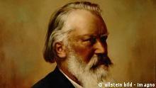 """Johannes Brahms, Komponist (1833-1897). Gem""""lde von K. Rona. Öl/Lwd., 1896. Gesellschaft der Musikfreunde, Wien, Österreich ullstein_high_00795454.ullstein bild - Imagno"""