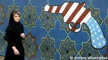 در پی اشغال سفارت آمریکا در تهران  مناسبات دیپلماتیک و سیاسی میان دو کشور تیره و سرانجام قطع شد.