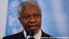 کوفی عنان، فرستاده ویژه سازمان ملل متحد و اتحادیه عرب به سوریه