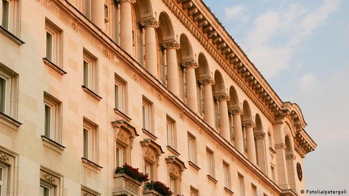 Regierungsgebäude in Sofia Bulgarien