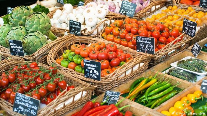 Gemüsemarkt in Deutschland