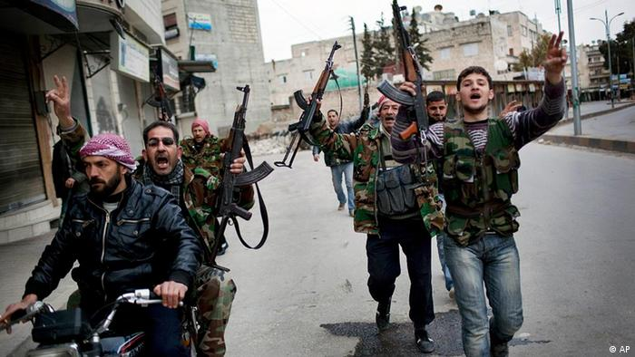Сирийские повстанцы