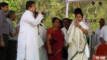 Prämierministerin Mamta Banerjee besucht das Dorf Nandigram, West Bengalen, Indien