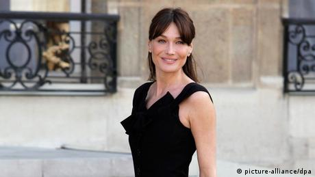 Carla Bruni Sarkozy (Foto: Picture-alliance/dpa)