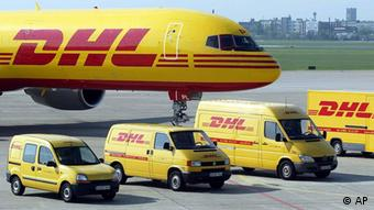 DHL fleet in Berlin