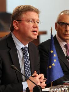 Informeller Beitrittsdialog auf hoher Ebene zwischen EU und Mazedonien