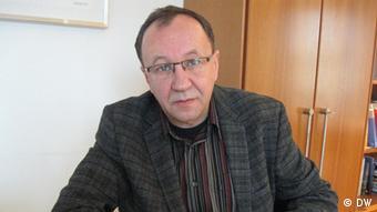 Prof. Robert Traba – Direktor des Zentrums für Historische Forschung der Polnischen Akademie der Wissenschaften in Berlin. Copyright: DW/Maciej Wisniewski März, 2012