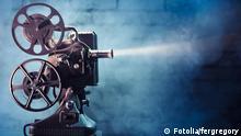 Symbolbild Kino Filmrolle Projektor