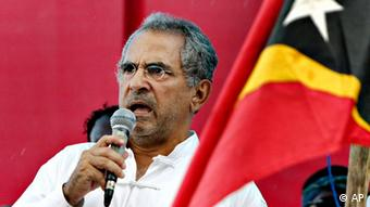 Jose Ramos Horta bei einer Rede in Dili Ost Timor