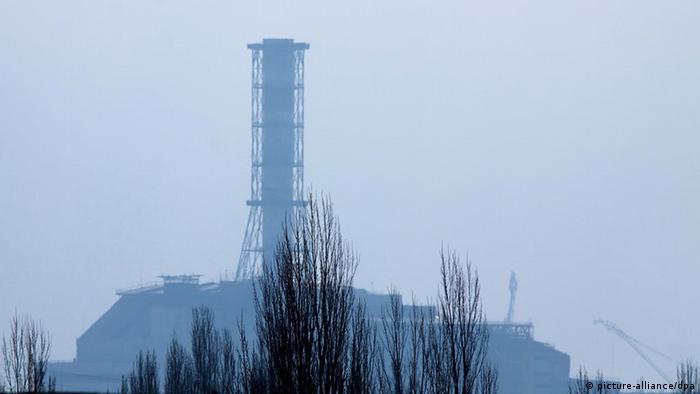 Biotop oder Industrie in Tschernobyl?