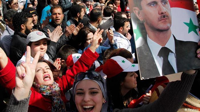 غالبية سكان حي المزة جيل 86 من الموالين لنظام بشار الأسد