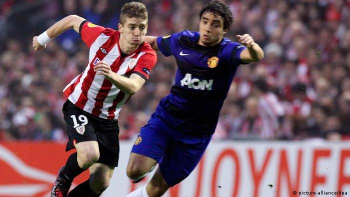 Fußball Europa League Manchester United - Athletic Bilbao