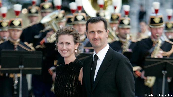 به نظر همسران سفیران آلمان و بریتانیا، اسماء اسد از انجام وظایف ملی خود شانه خالی میکند