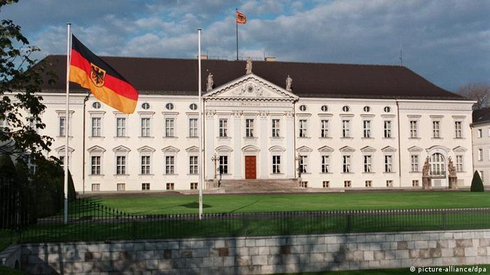 Дворец Бельвю в Берлине - резиденция федерального президента