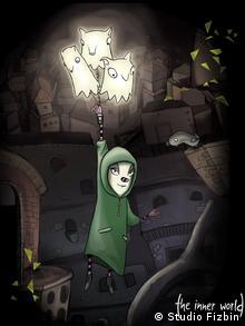 Сцена из игры ''The Inner World''