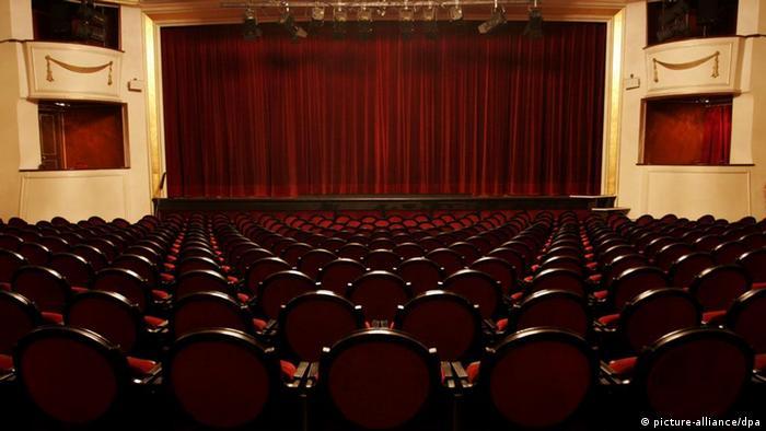 Leerer Theatersaal