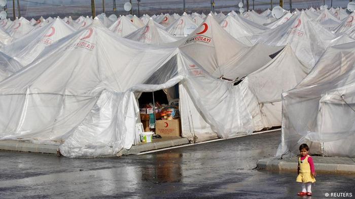 Syrien Flüchtlinge in Boynuyogun Türkei