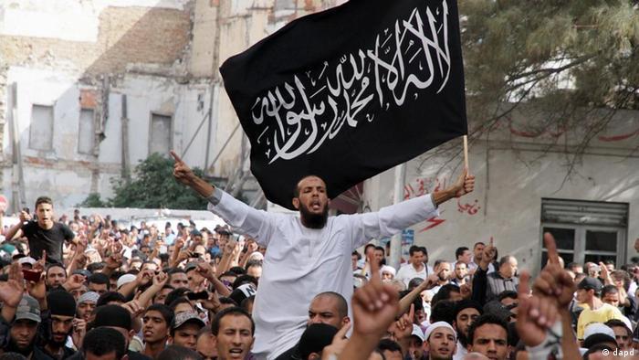 اسلامگرایان افراطی سلفی در تونس