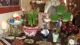 Iran Neujahr Haftsin (tyban)