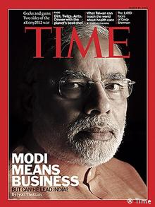 Narendra Modi on the cover of the TIME magazine