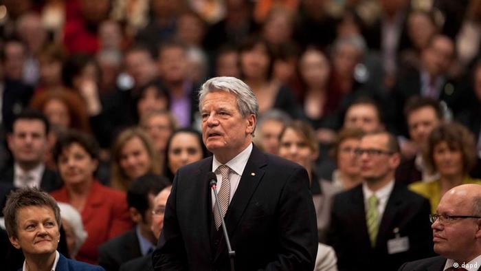 Presiden baru Jerman Joachim Gauck