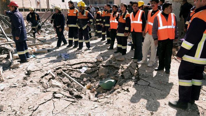 تصویری از محل انفجار روز یکشنبه در حلب