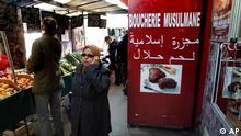 Frankreich Fleisch helal Fleischerei Paris Kennzeichnung